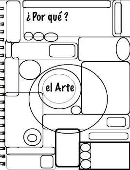 Art ... Why Art? Critical Thinking & Designing (4 pg) English & Spanish