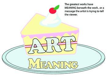 Art is like CAKE: Final works