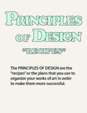 Art is like CAKE: the Principles of Design