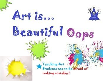 Art ... Free! Beautiful Oops by Barney Saltzburg (1 Printable)