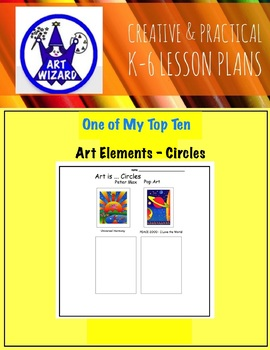Art Elements - Circles (14 Printable Open Ended Worksheets)