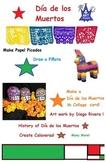 Day of the Dead or Dia de los Muertos, Art  (23 pages printables)