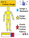 Art is...Fashion  (23 Printables for Creative Design)
