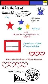 Art ... Free!  Little Bit of Oomph! by Barney Saltzburg (3 printable pages)