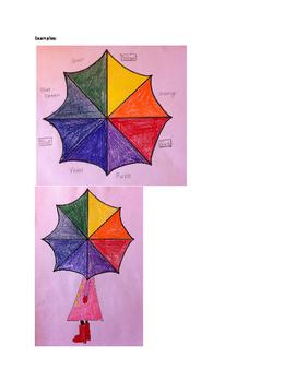 Art lesson- Color- Color Wheel (lesson 7) Grade 5