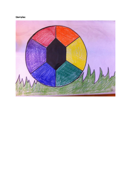 Art lesson- Color- Color Wheel (lesson 9) Grade 3