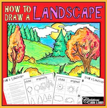 Workshop: Draw a Landscape , Autumn: Art Lesson