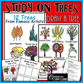 Workshop:  Draw a Tree, Study on Tree: Art Lesson