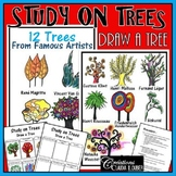 Workshop:  How to Draw a Tree, Study on Tree: Art Lesson