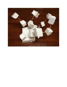 Art lesson- Form- Styrofoam Sculpture (lesson 17) Grade 3