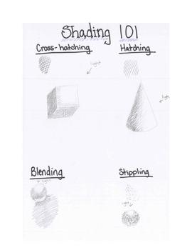 Art lesson- Ocean Lines (lesson 3) Grade 5