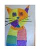 Art lesson- Shape- Head of a Cat (Paul Klee) (lesson 5) Grade 3
