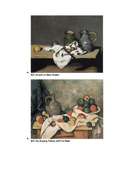 Art lesson- Shape- Still Life (Cezanne) (Lesson 6) Grade 5