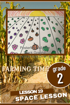 Art lesson- Space- Fall Farm (lesson 19) Grade 2