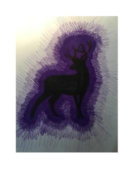 Art lesson- Value- Silhouette Color Value (lesson 16) Grade 6