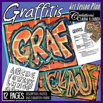 Art Lesson Plan for Kids: Graffitis