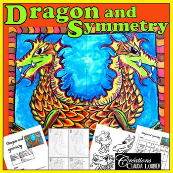 Math and Art Lesson Plan for Kids: Dragon and Symmetry