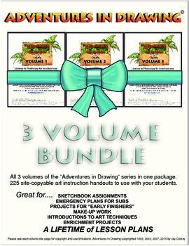 Art lessons bundle package