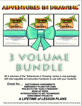 Art lessons bundle package