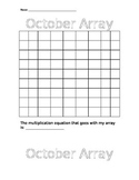 Art meets Math with this October Array