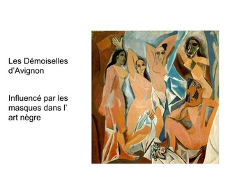 Art movements - Baroque to Art Nouveau (in French)