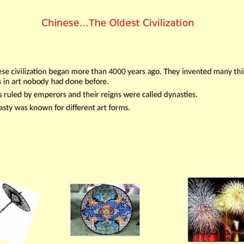 Art of China PowerPoint