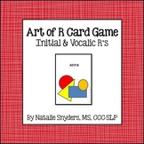 """Art of R"" Card Game - For Speech Language Therapy - Articulation"