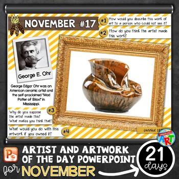 Art of The Day NOVEMBER