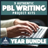 Authentic PBL Writing Projects Bundle