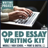 Writing PBL Project: Op-Ed Research & Essay Project