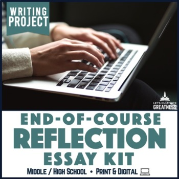Writing Pbl Project End Of Course Or Project Reflection Essay  Tpt Writing Pbl Project End Of Course Or Project Reflection Essay