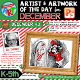 Art of the Day for K-5- DECEMBER