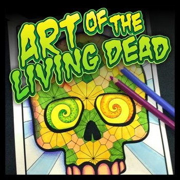 Art of the Living Dead - Templates, Reference, and Coloring Sheets