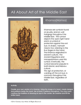 Islamic & Middle Eastern Art:Khamsa