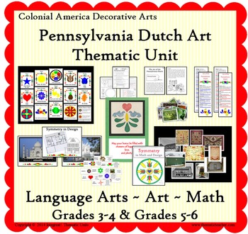 Art of the Pennsylvania Dutch--Thematic Unit