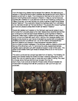 Art of the Underground Railroad and Symbolism