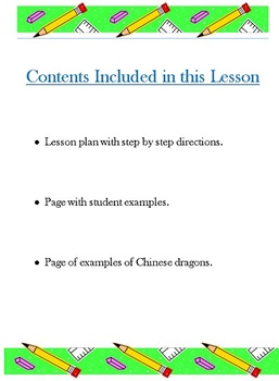Art of the World: Chinese New Year Dragon Lesson