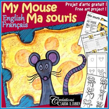 Free Art Project : My Mouse - Projet d'arts plastiques gratuit : Ma souris.