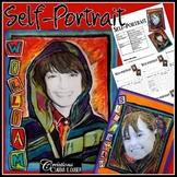 Art project: Self portrait