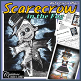 Autumn Art Project : Scarecrow in the Fog