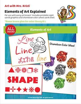 Art with Mrs. Kristi - Elements of Art