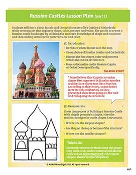 Art with Mrs. Kristi - Russian Castles