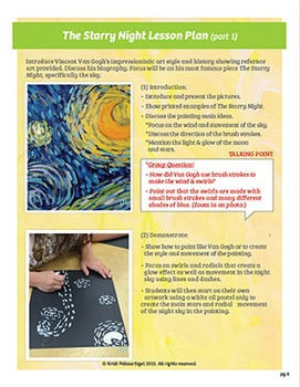 Art with Mrs. Kristi - Vincent Van Gogh - The Starry Night