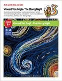 Art with Mrs. Kristi - Vincent Van Gogh - The Starry Night