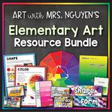Teach Art with Mrs. Nguyen's Elementary Art Bundle (Art Posters & Activites)