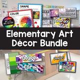 Art with Mrs. Nguyen's Elementary Art Decor Bundle