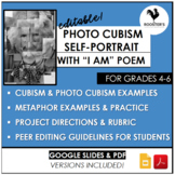 Art with Poetry Lesson for 4th grade - 6th grade {Digital & PDF}