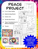 Art with a Message: Peace Project- Peace Day 9/21/19 Great for Back to School!