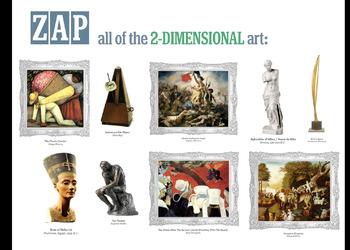 ArtZap: 2-Dimensional or 3-Dimensional?