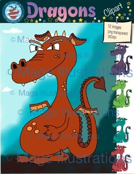 Dragon clipart, dragon magic, fantasy, tale, storytelling